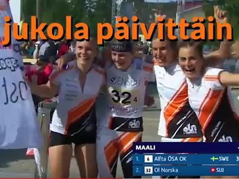 Live-Berichte von der Jukola