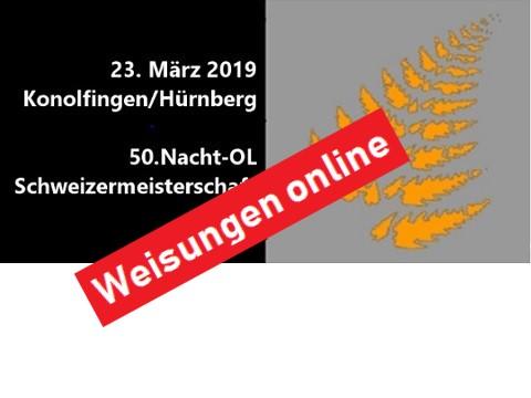 50. Nacht-OL Schweizermeisterschaft