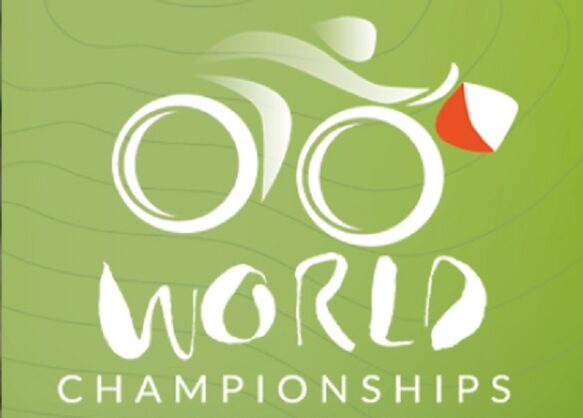 Lena Hofer an der Bike-OL Junioren-WM